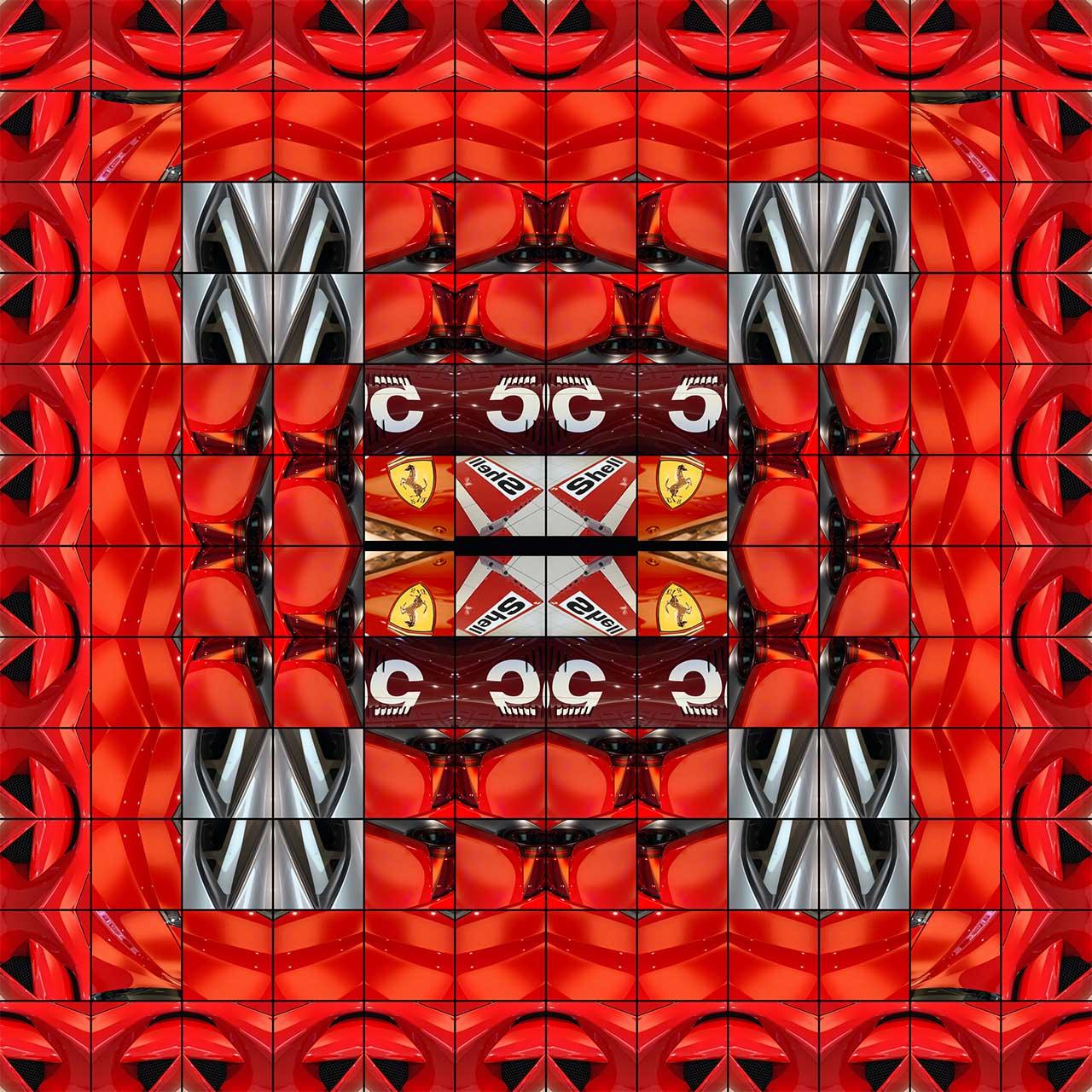 Ferrari F1 Series 2020 Ferrari Red 5 David Wiener Fine Art
